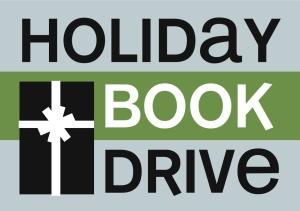 holiday book drive logo