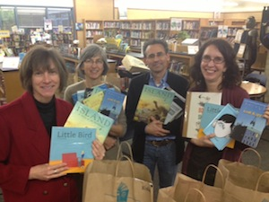 Librarians from Westlake, Gault, DeLaveaga and Bay View