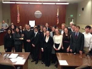 Santa Cruz High Mock Trial Team