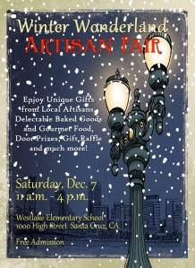 Westlake 2013 Artisan Fair 8x11 poster FINAL